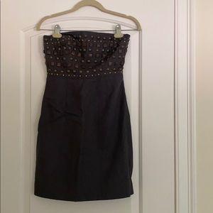 J Drew beaded strapless dress